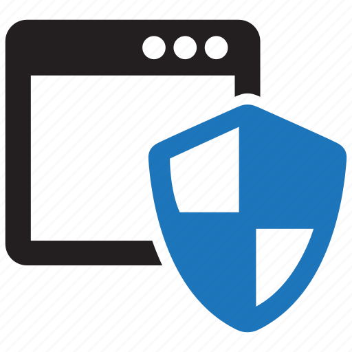 browser, internet, network, protection, security, shield, surf icon