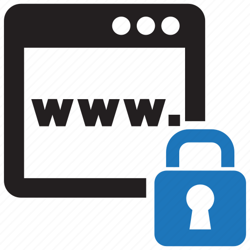 blocker, content, internet, lock, network, web, website icon