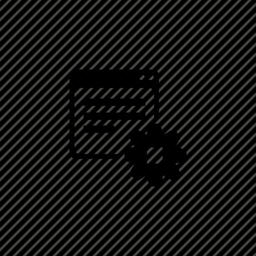 api, gear, program, settings, stop, window icon