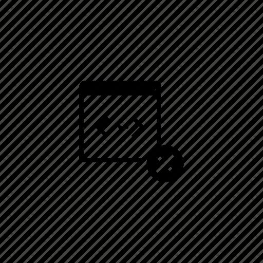 api, delete, program, script, stop, window icon