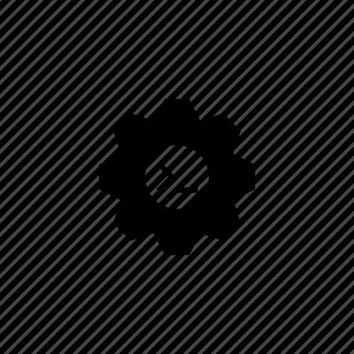 api, code, gear, options, settings icon