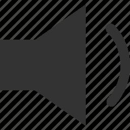 audio, control, quiet, sound, speaker, volume icon