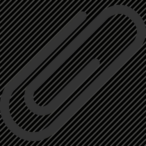 attach, attachment, clip, document, paper clip icon