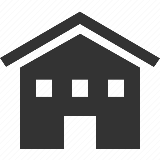 building, estate, home, home page, house icon