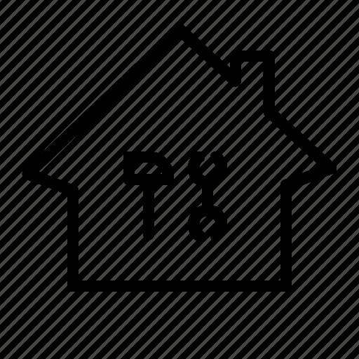 construction, property, renovation, repair icon