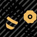 animal, apiary, bee, honey, insert icon