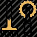 apiary, beekeeper, comb, equipment, tool icon