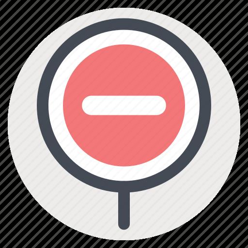 board, construction, no entry, notice, sign, signal, warning icon