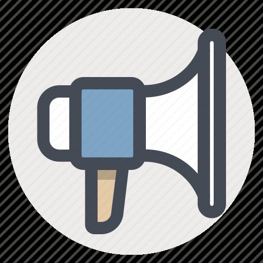 announcement, branding, building, construction, megaphone, promotion, speaker icon