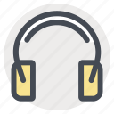 construction, control, earbuds, protection, safety, security, soundproof icon