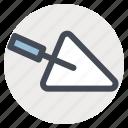 building, construction, hand tool, repair, scraper, tool, work icon