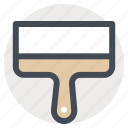 building, construction, hand tool, paint, repair, scraper, tool icon