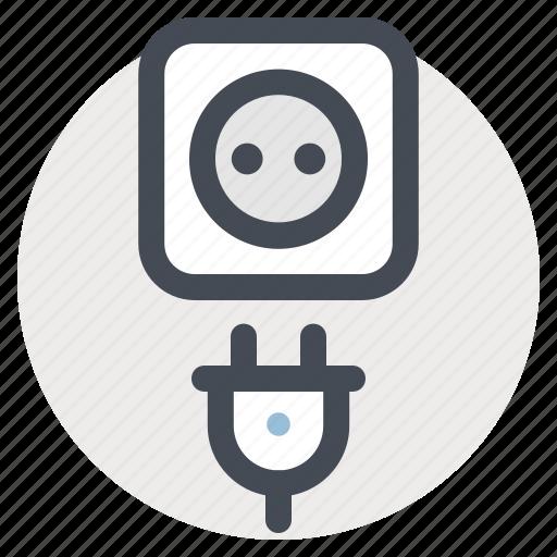 building, electric, electrical tool, plug, repair, tool, work icon