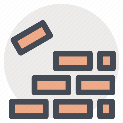 building, construction, repair, tool, wall, work, working icon