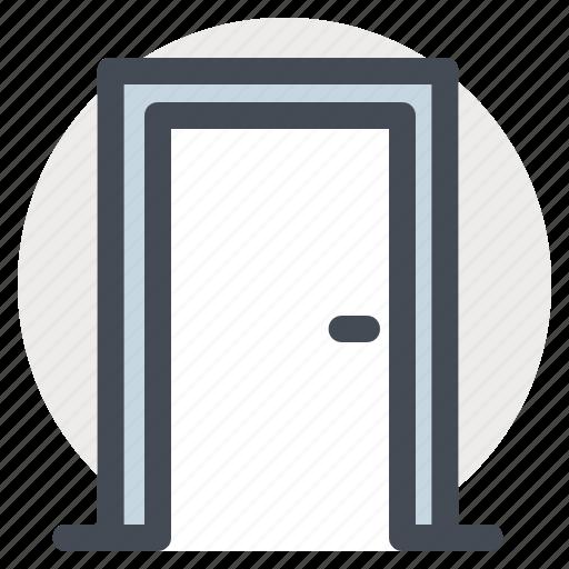 building, construction, door, entrance, home, renovation, repair icon