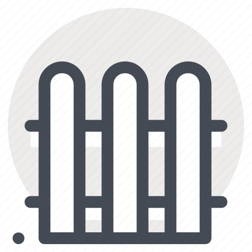 architect, construction, design, fence, home, project, safety icon