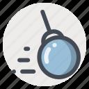 ball, construction, demolation, heavy, heavy equipment, machine, machinery icon