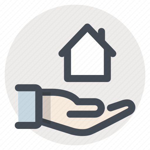 architect, building, care, construction, handover, home, project icon