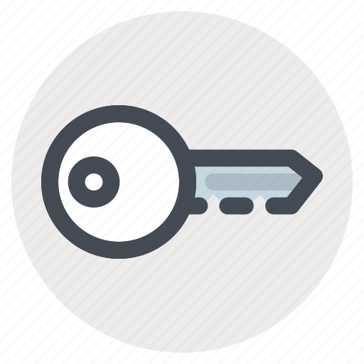 access, building, construction, key, lock, project, property icon