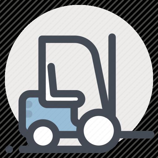 construction, forklift, heavy, heavy equipment, machine, machinery, work icon