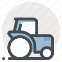 building, construction, dumper, heavy vehicle, load, repair, rollar icon