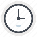 clock, construction, control, deadline, manage, schedule, time icon