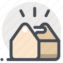 box, building, construction, construction equipment, repair, tool kit, tools icon