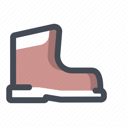construction, control, footwear, protection, safety, secure, shoes icon