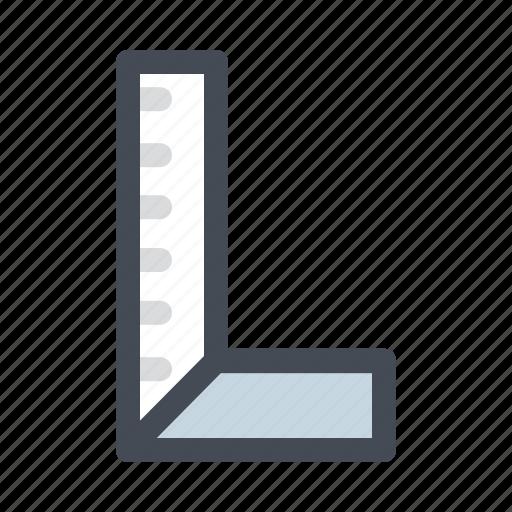 building, construction, equipment, measure, measurement, ruler icon