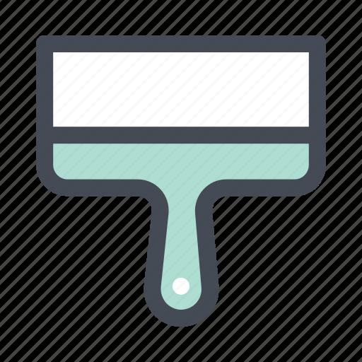 building, construction, hand tool, paint, repair, scraper, tool icon