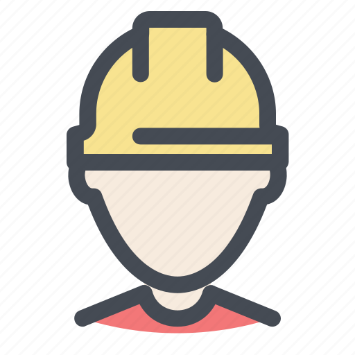 avatar, builder, building, construction, profile, worker icon
