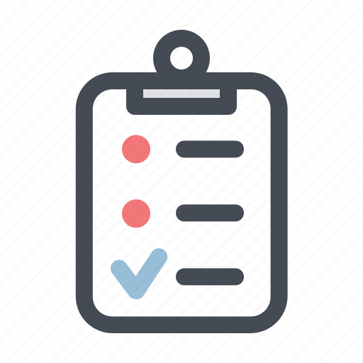 building, checklist, construction, daily work, renovation, repair, task icon