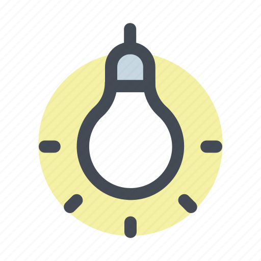 building, construction, idea, lamp, light, thinking, tool icon