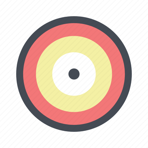 achieve, aim, construction, dart board, renovation, repair, success icon