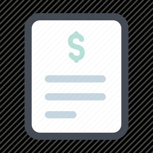 bill, building, construction, dollar, payment, receipt, renovation icon