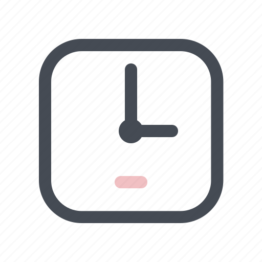 building, clock, construction, control, manage, schedule, time icon