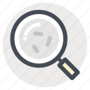 bacteria, disease, germs, magnifier, search disease, study, zoom icon