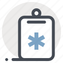 checkmark, clipboard, health, healthcare, medicine, report, task icon