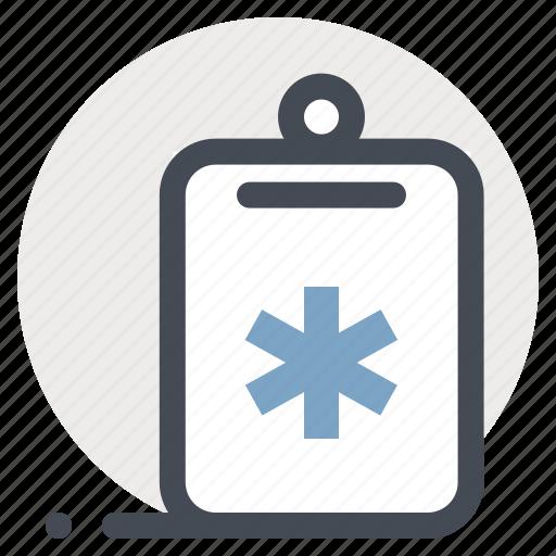 checkmark, clipboard, health, healthcare, medicine, report, task icon