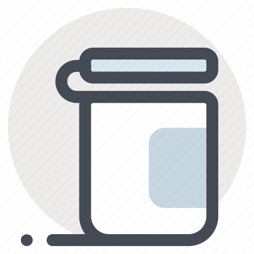 container, jar, medicine, pharmacy, tablets, treatment icon