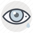 diagnosis, emergency, eye, first aid, healthcare, injury, medicine icon