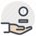 care, doctor, hand, patient, pharmacy, tablets, treatment icon