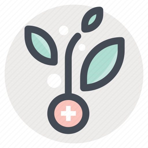 care, cure, green, growth, plant, research icon