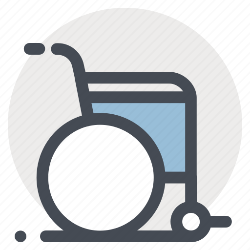 clinic, disability, handicap, hospital, medicine, rehabilitation, wheelchair icon