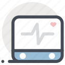 cardiogram, ecg, ekg, heart beat, medicine, monitor, pulse icon