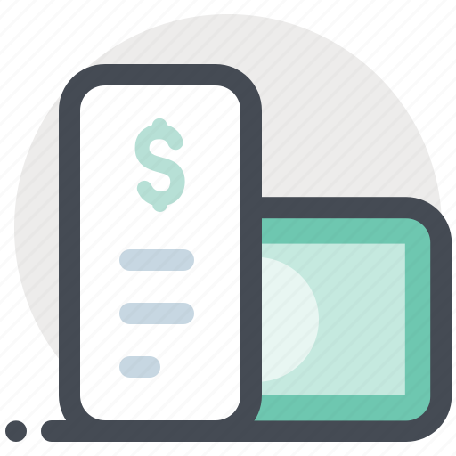 bill payment, cash, check, dollar, finance, money, payment icon