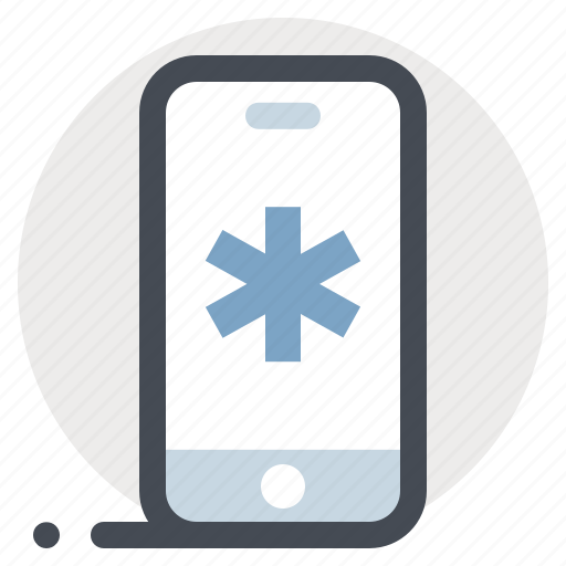 care, health, hospital, medical aid, medical care, personal doctor, phone app icon