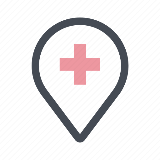 care, doctor, health, hospital, medicine, patient, place icon