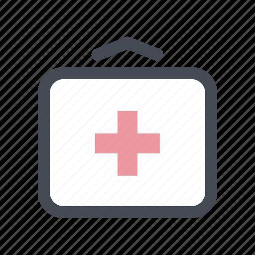 bag, doctor, first aid, health, help, hospital, medical icon