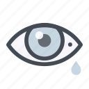 cry, emergency, eye, first aid, healthcare, injury, medicine icon